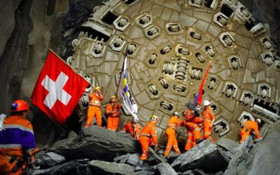 Bouchon de 10 km devant le tunnel du Gothard